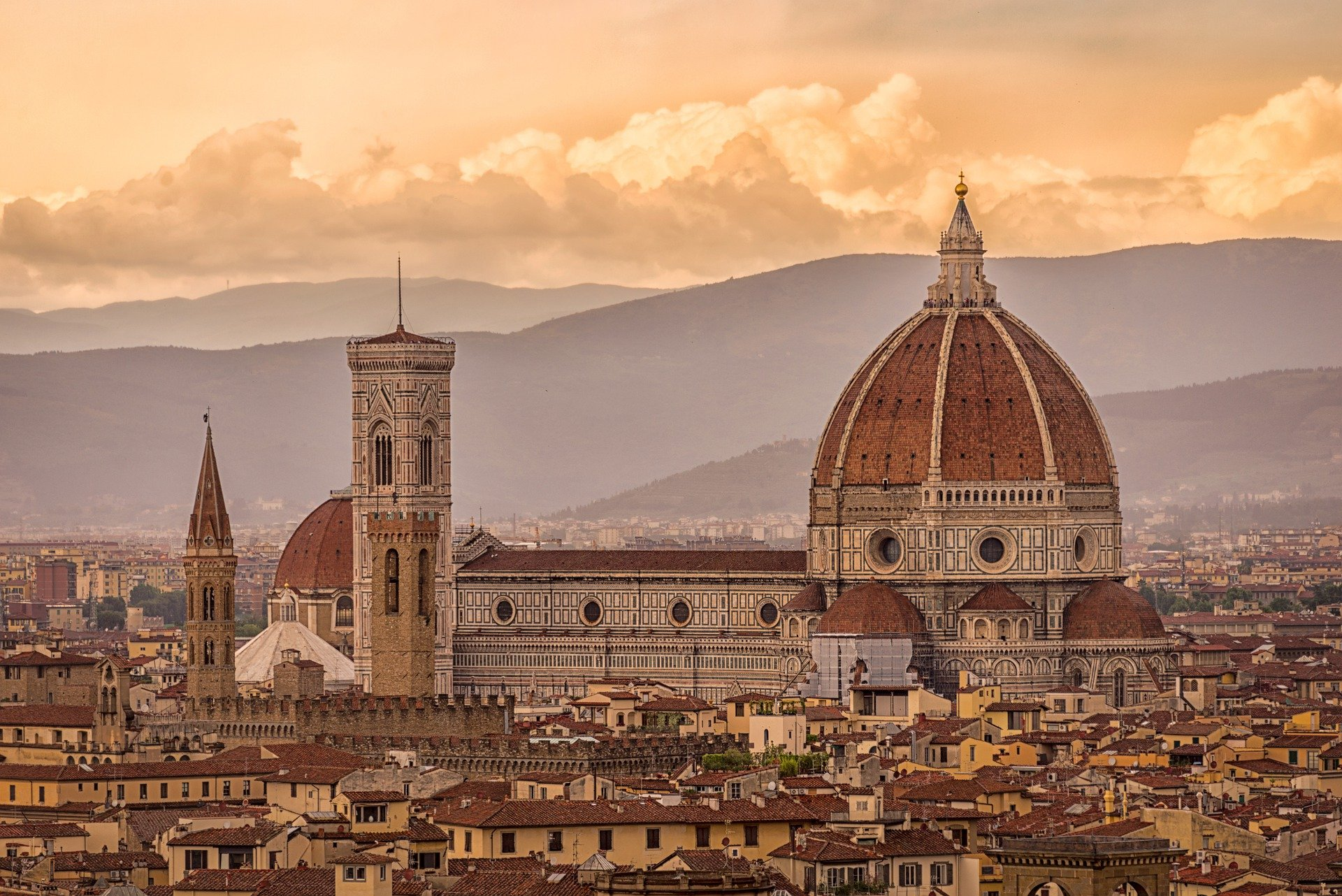 Italy - Cathedral of Santa Maria del Fiore in Florence